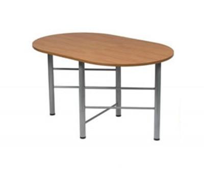 Рим овал стол складной-книжка